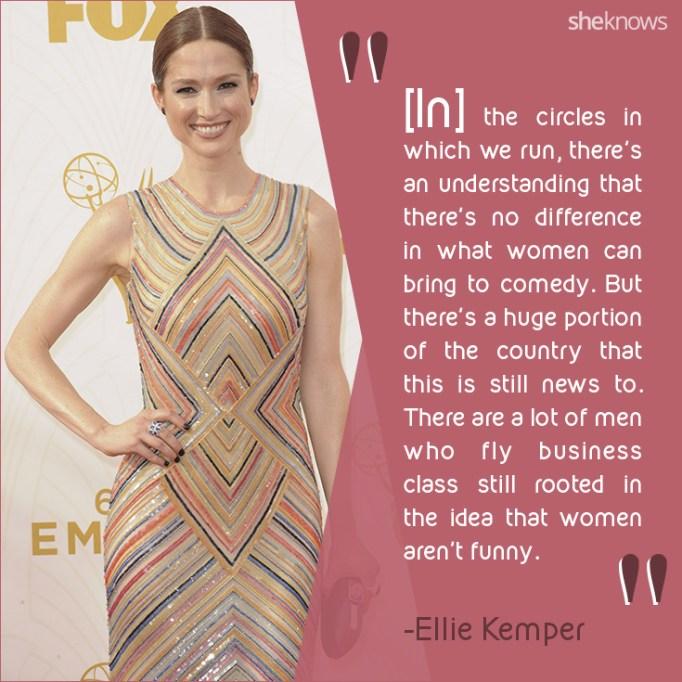 Ellie Kemper quote