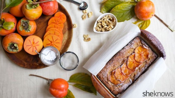 Persimmon bread — your tasty introduction