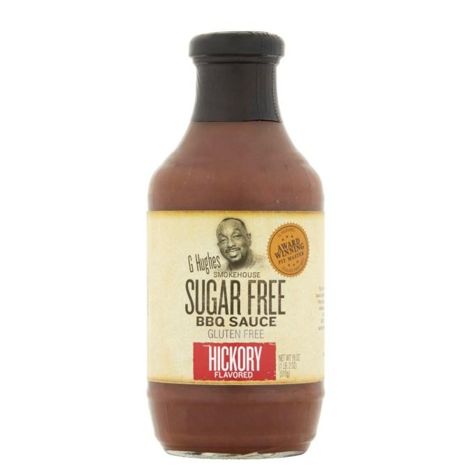 G Hughes Smokehouse Sugar-Free Hickory Flavored BBQ Sauce