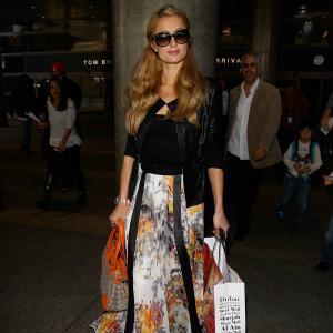 Paris Hilton hits back at Nelson