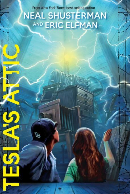 Fantasy, Mystery & Adventure Books for Tweens | 'Tesla's Attic' By Neal Shusterman & Eric Elfman