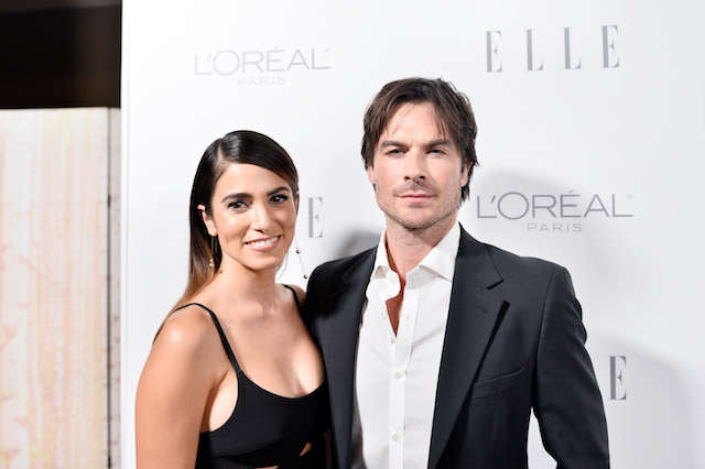 Nikki Reed and Ian Somerhalder attend ELLE's 24th Annual Women in Hollywood Celebration