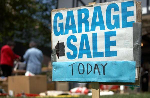 Garage sale secrets