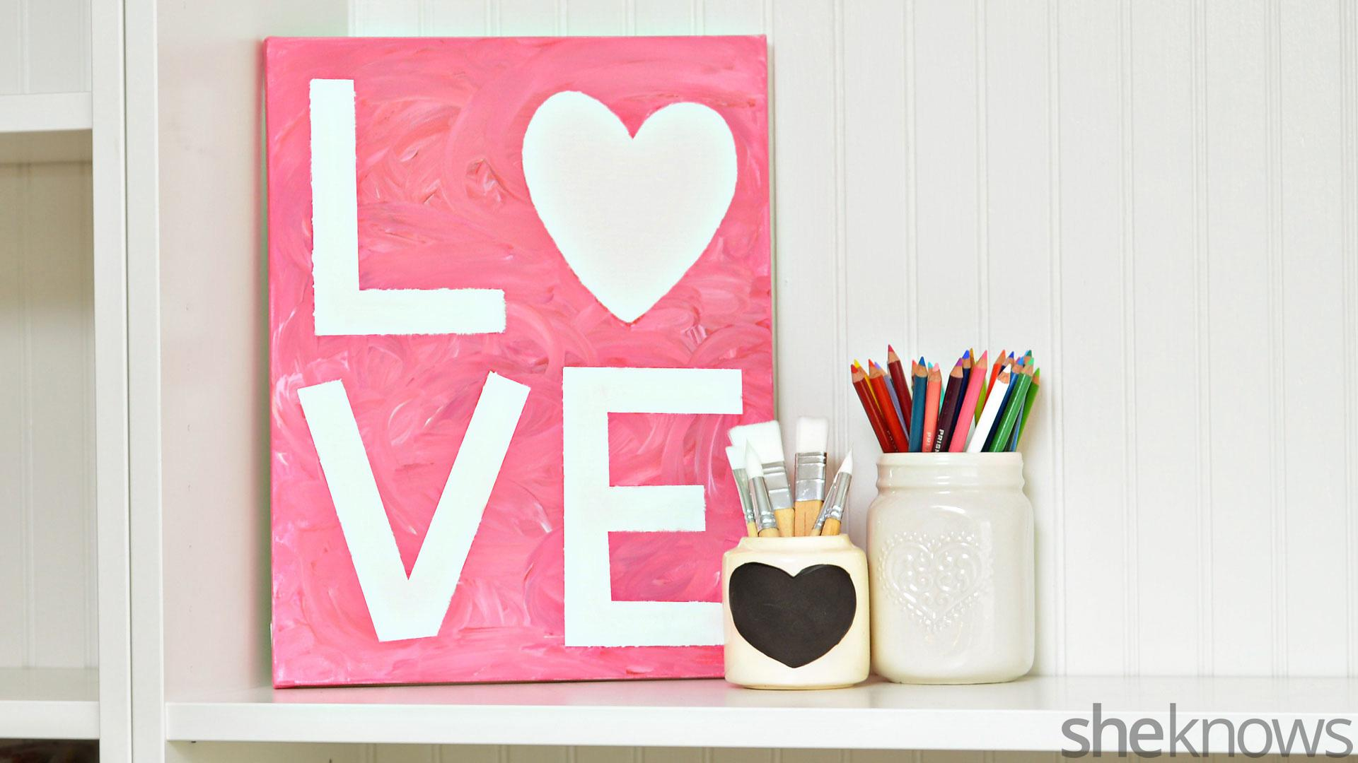 How To Create Easy Valentine S Day Finger Paint Art With Kids Sheknows