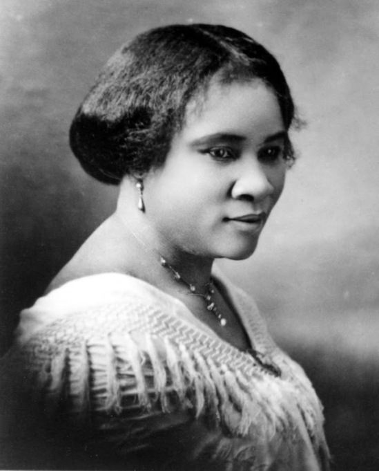 Archived photo of Madam C.J. Walker