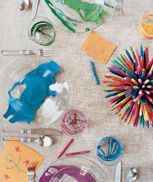 Kids' table preparedness: Make the kids
