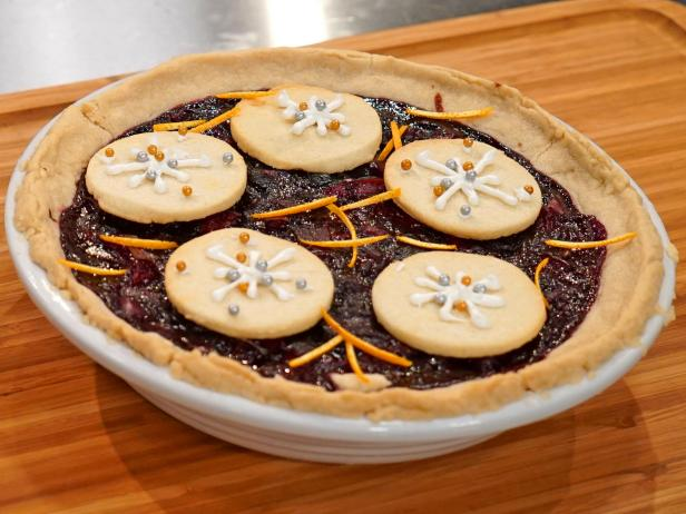 Holiday Baking Championship Recipes: First Snow Cherry Pie