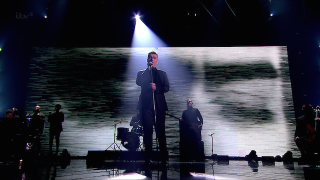 Sam Smith performing 'Stay With Me'