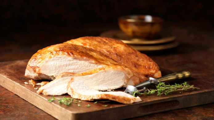 Thanksgiving dinner for two: Turkey breast