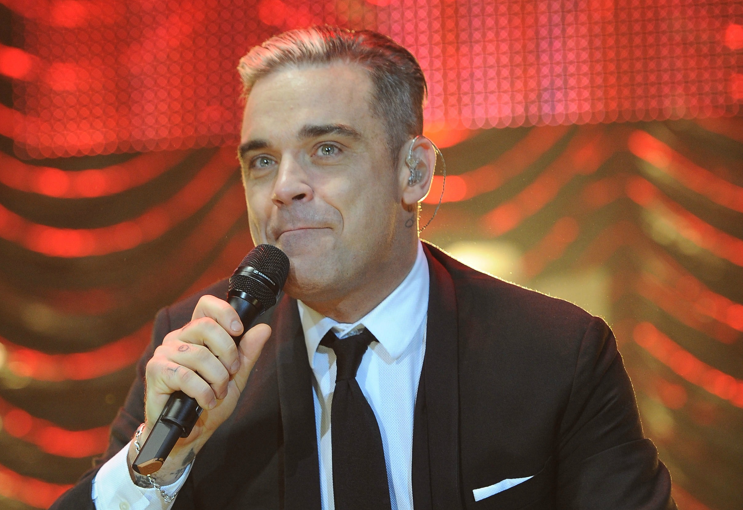 Robbie Williams is going to be a father for the second time