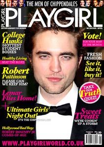 Robert Pattinson Playgirl
