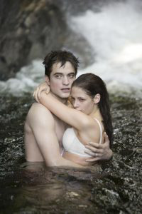 Edward and Bella honeymoon scene Breaking Dawn