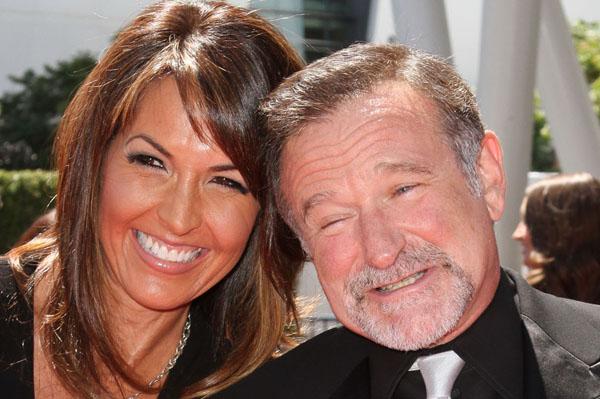 Robin Williams and wife honeymoon in Paris