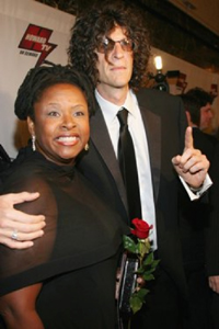 Robin Quivers and Howard Stern