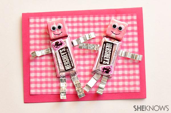 Chocolate robot valentine | Sheknows.com