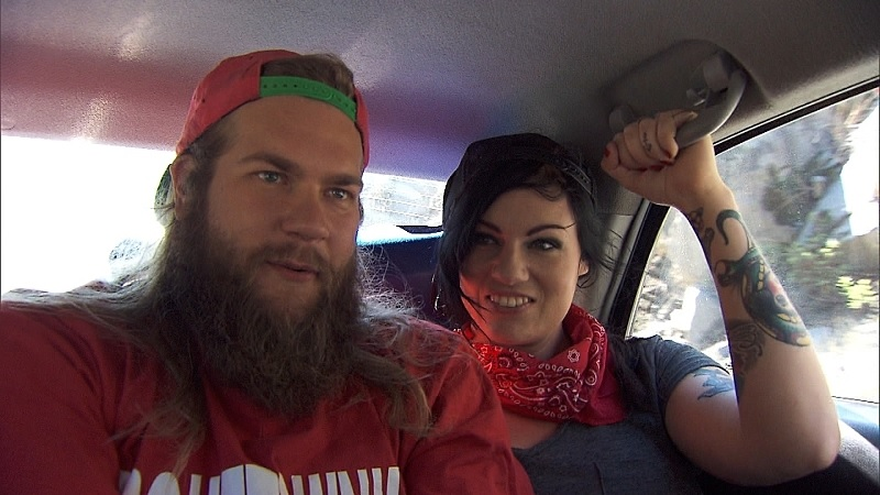 Rochelle and Mike on The Amazing Race
