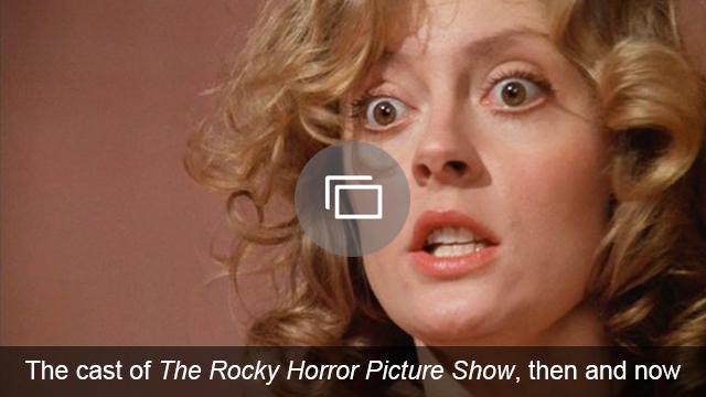 rocky horror slideshow