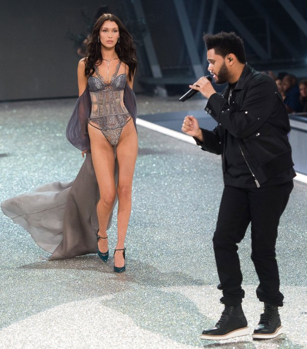 The Weeknd & Gigi Hadid 2016 Victoria's Secret Fashion Show
