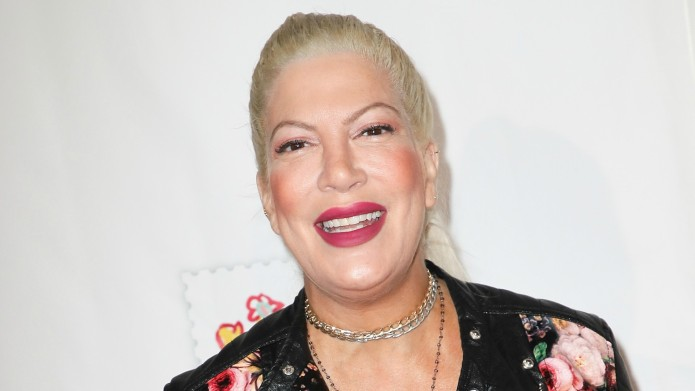 Tori Spelling Chooses to Broadcast Positive