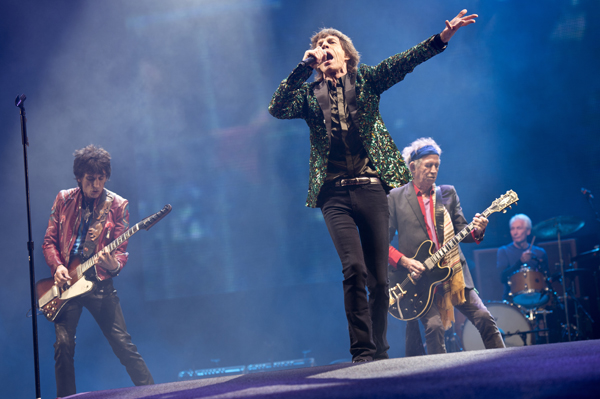 Rolling Stones on tour in 2013