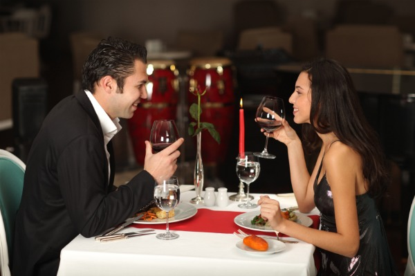 Romantic first date