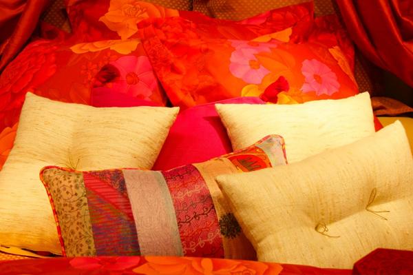 Romantic Red Bedroom
