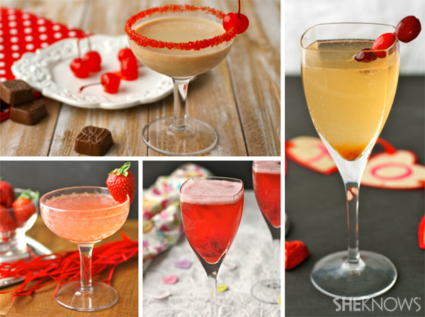 4 Romantic Valentine's Day cocktails
