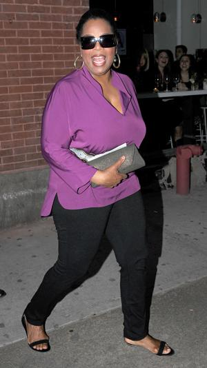 Oprah betrays Gayle with breast cancer