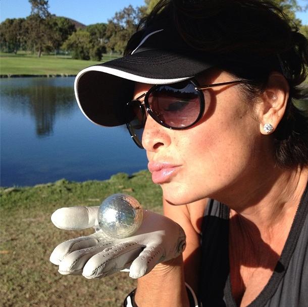 Ronda Kamihari loves golf