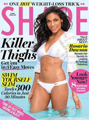 Rosario Dawson Shape magazine