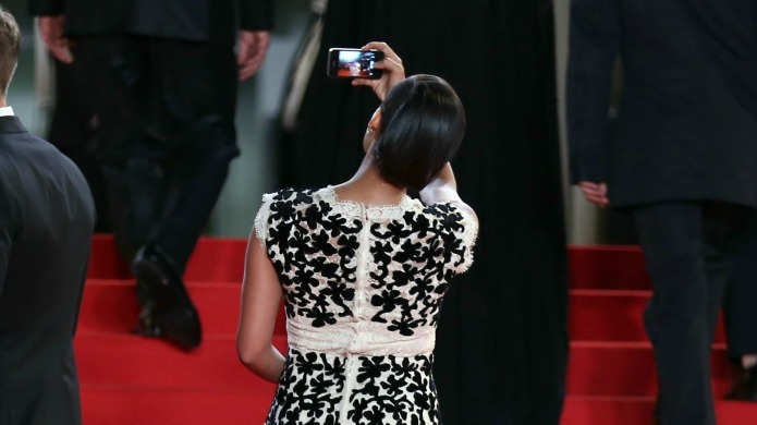 Celebrity selfies not welcome on Cannes