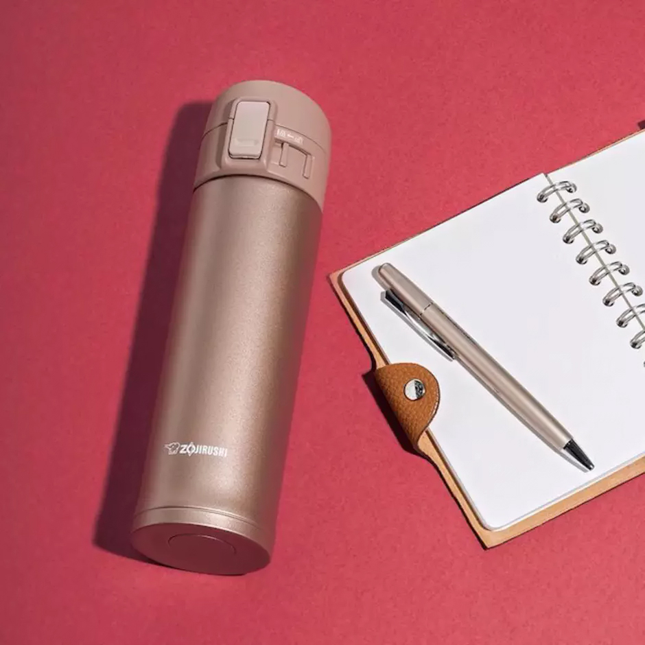 Gifts Your Kids' Teacher Really Wants: Rose Gold Travel Mug