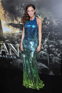Rose McGowan at Conan the Barbarian premiere