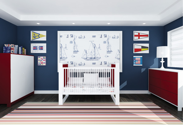 inspiring nautical themed bedroom ideas | Decorating a nautical kid's bedroom – SheKnows