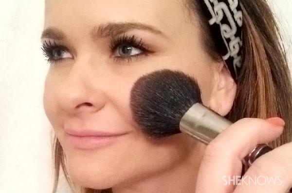 Rosey cheek glow makeup tutorial | Sheknows.com - Step 2