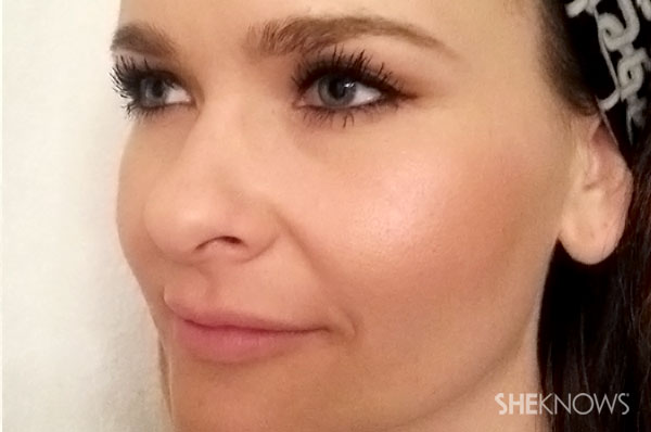Rosey cheek glow makeup tutorial | Sheknows.com - Step 3