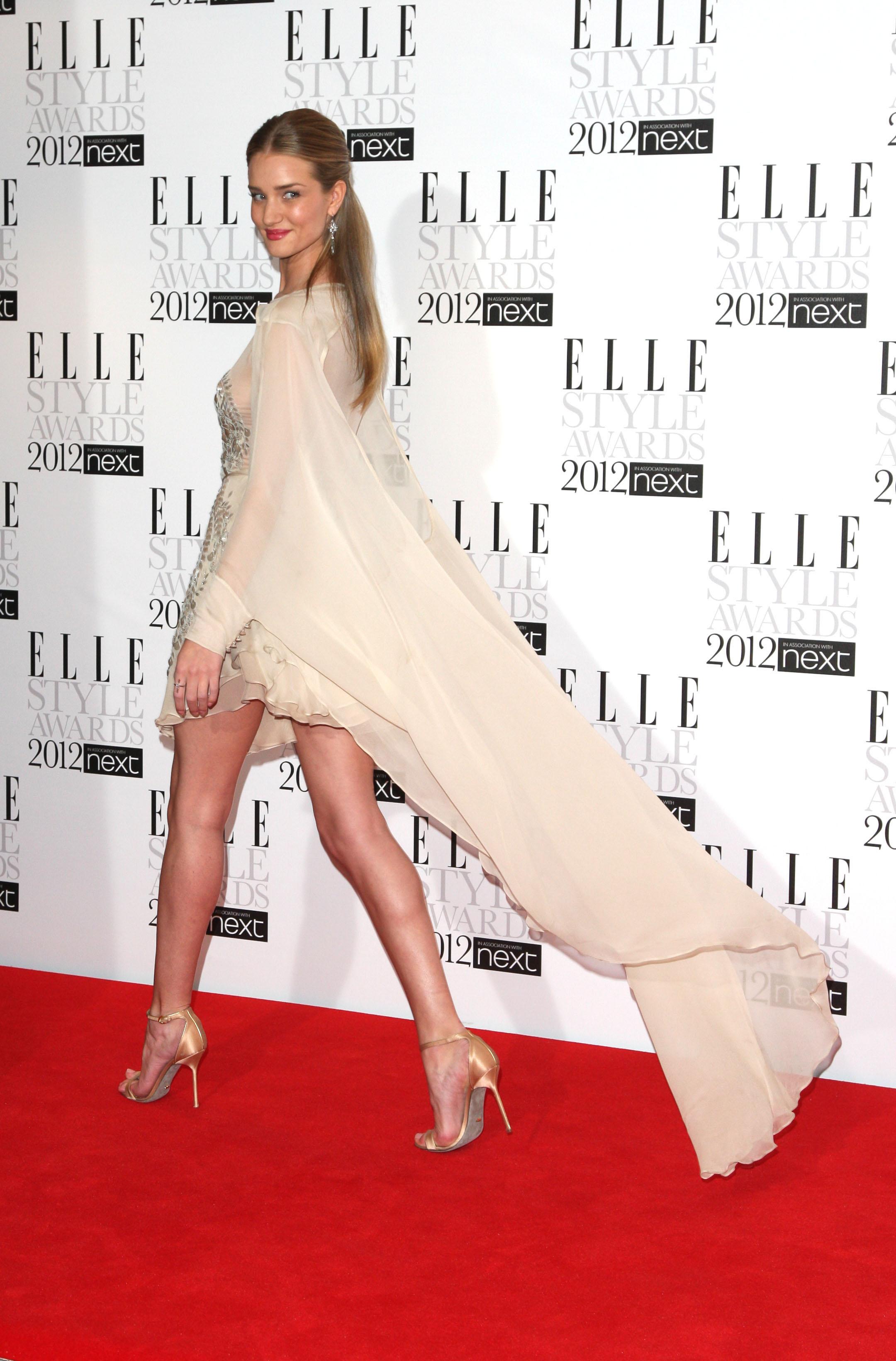 rosie huntington whiteley elle style awards