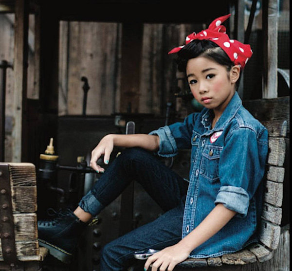 Feminist Halloween Costumes for Kids: Rosie the Riveter