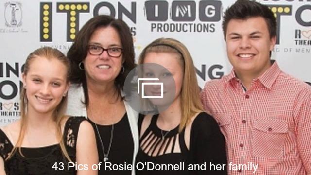 Rosie O'Donnell family slideshow