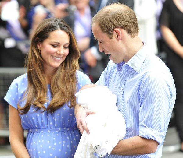 BBC criticized over broadcast of Prince George christening