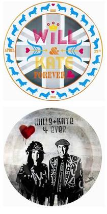Jonathan Adler royal wedding plates