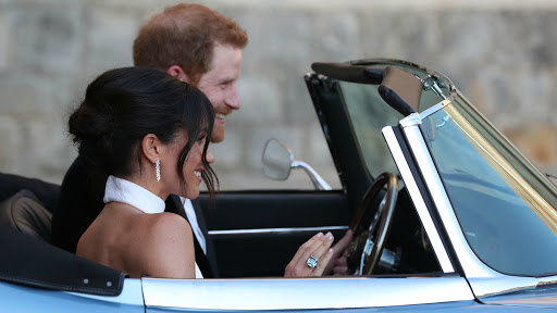 Meghan Markle's something blue