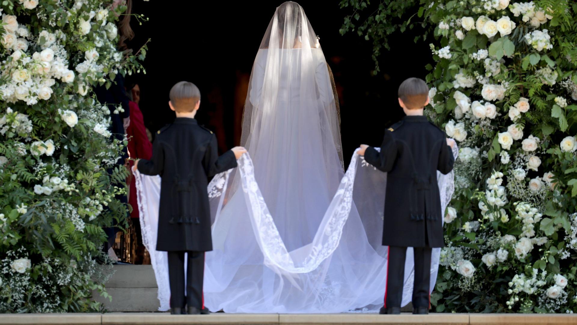 Meghan Markle's veil