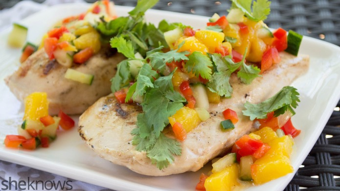 Garlic-lime chicken is an easy (and