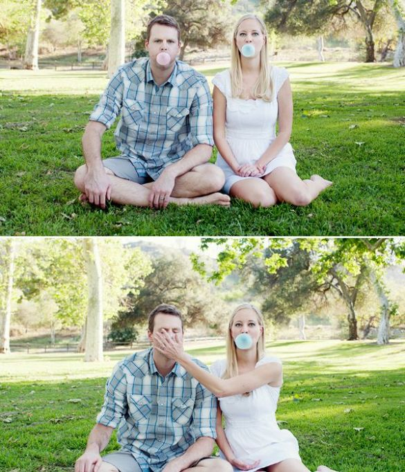 Gender Reveal Party Ideas You'll Actually Want to Copy: Bubblegum Pic