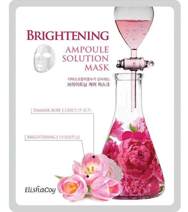 Seriously Good Beauty Products at CVS : Elisha Coy Brightening Ampoule Solution Mask | Drugstore Beauty