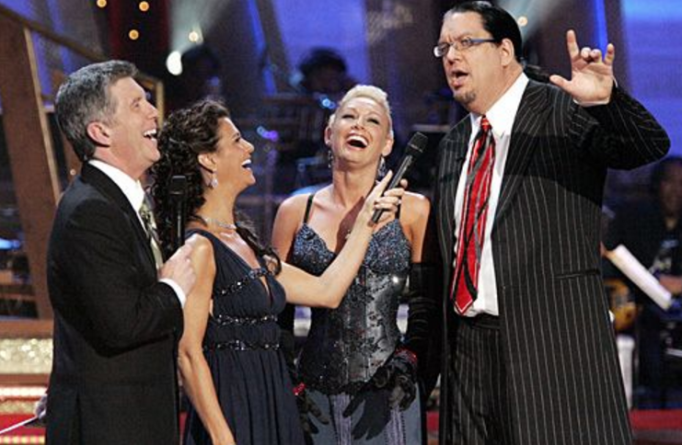 Penn Jillette And Kym Johnson