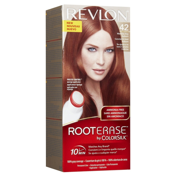 The Best Drugstore Root Dyes: Revlon RootErase By Colorsilk Permanent Hair Color | SheKnows Hair Color 2017