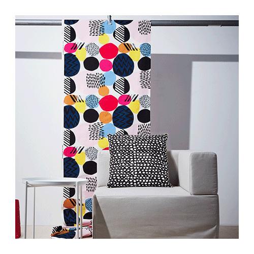 Ikea colorful Nedja fabric
