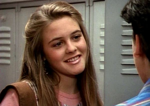 Alicia Silverstone in The Wonder Years